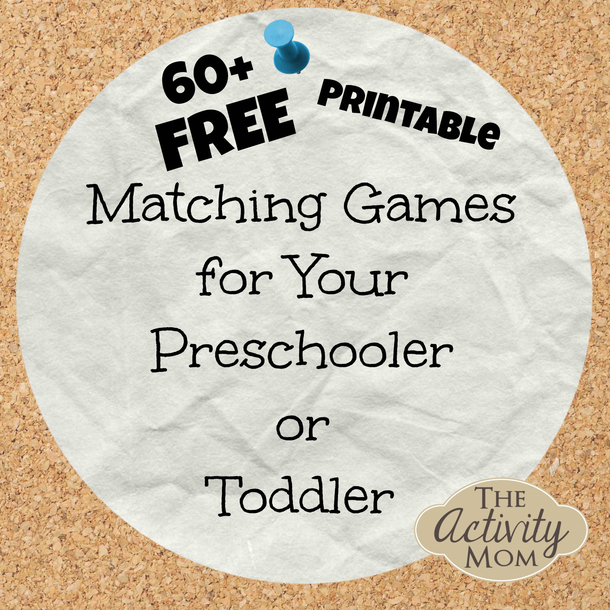 4 Images of Free Printable Matching Games For Preschoolers