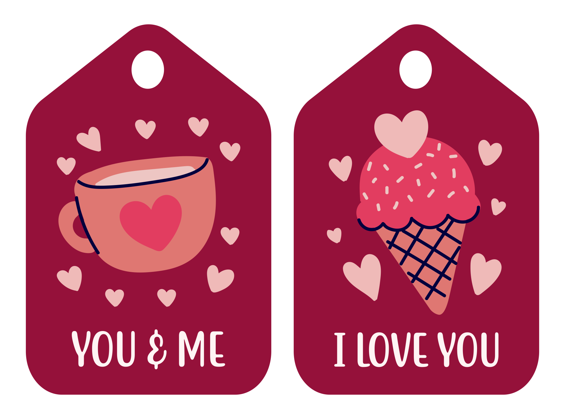 6 Images of Free Valentine Printable Gift Tags