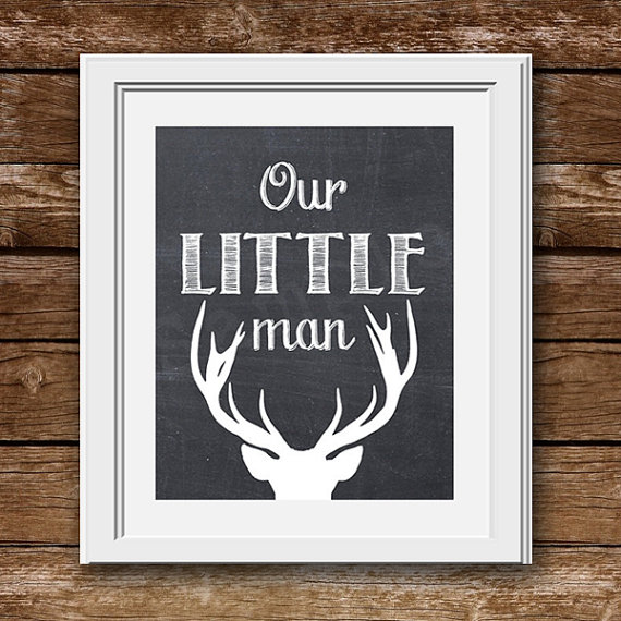 11 Images of Free Printable Nursery Art Deer