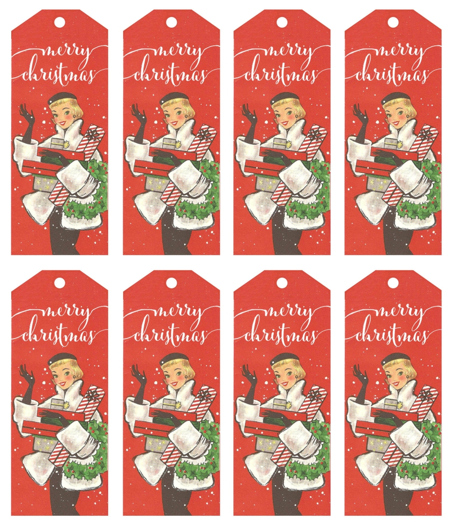 ... Printable, Free Printable Vintage Christmas Tags and Free Vintage