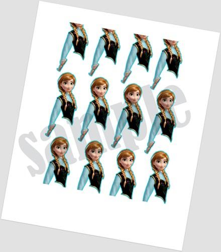 9 Images of Frozen Cake Pop Printables