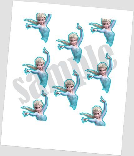 Free Disney Frozen Printables For Cake Pops