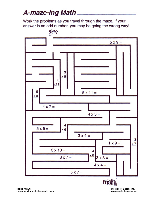 math worksheet : 4 best images of fun free printable math worksheets  fun math  : Free Math Worksheets Printable