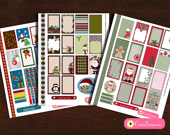 5 Images of Happy Planner Stickers Free Printable Kits