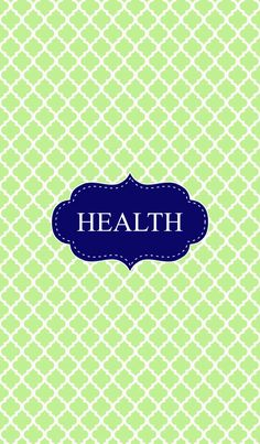 7 Images of Health Binder Cover Printable