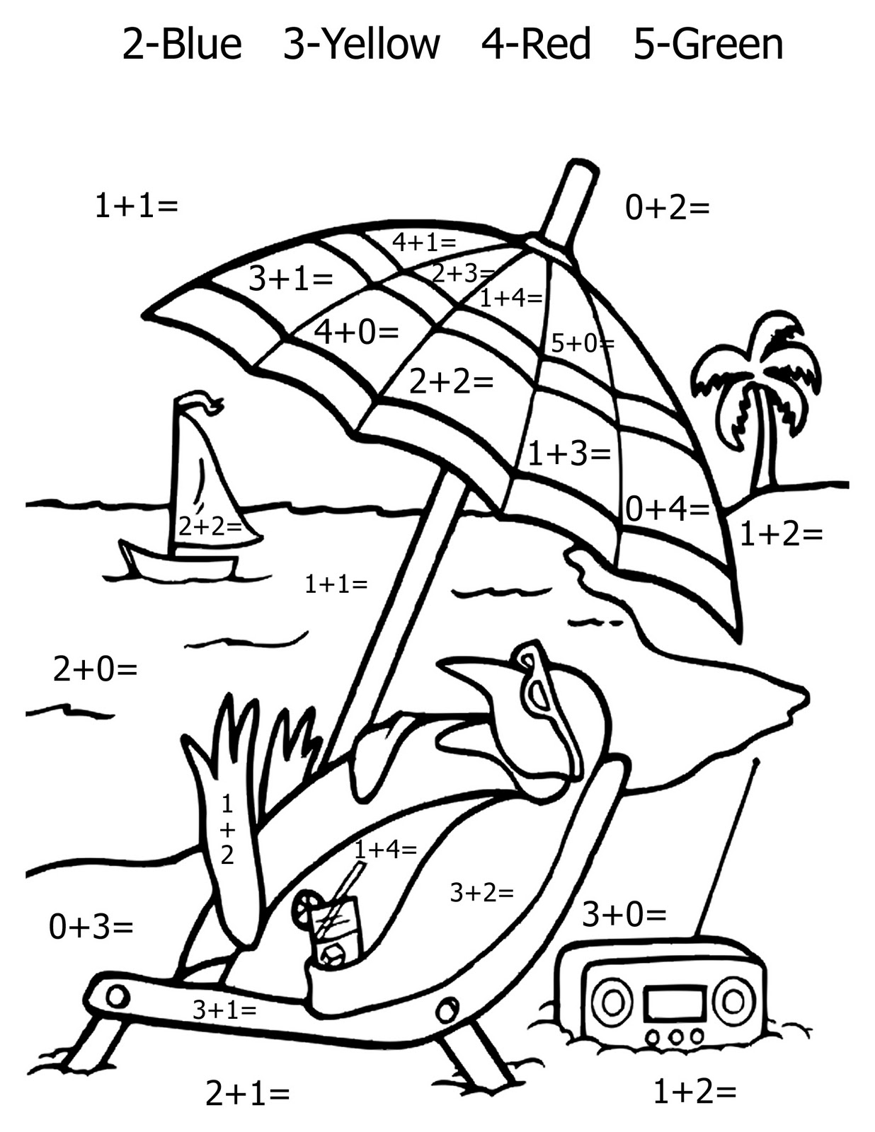 7 Images of Math Coloring Pages Printable