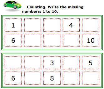 math worksheet : missing numbers worksheets 1 10  worksheets for education : Missing Numbers Worksheets For Kindergarten