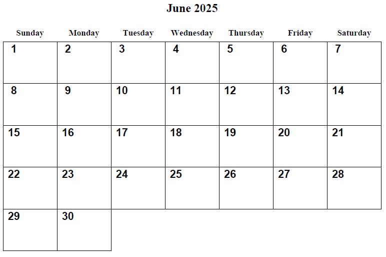 ... Calendar 4 best images of 2025 calendar printable - printable calendar