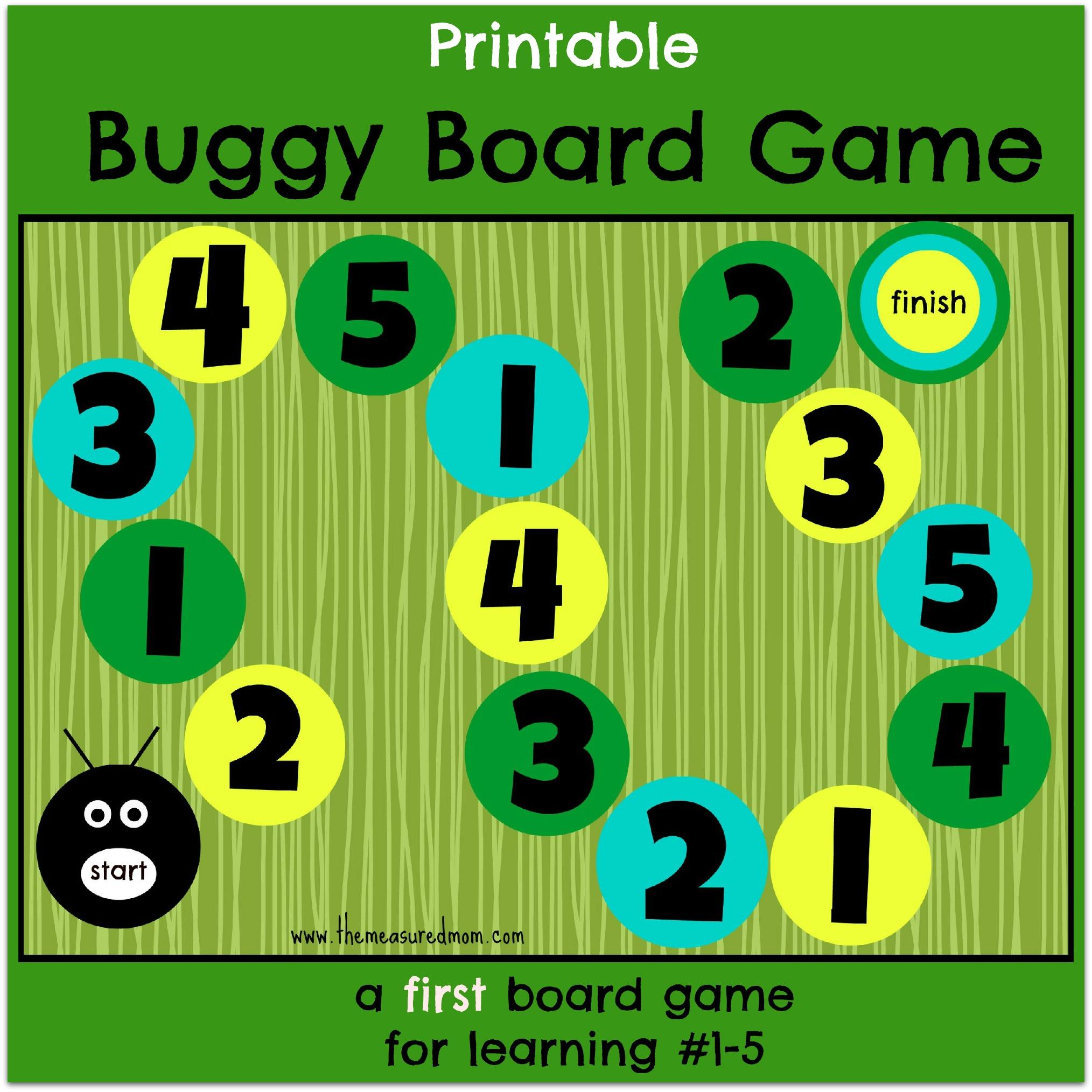 5 Images of Printable Preschool Number Games