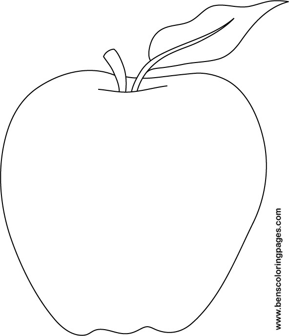 5 Images of Apple Pattern Printable