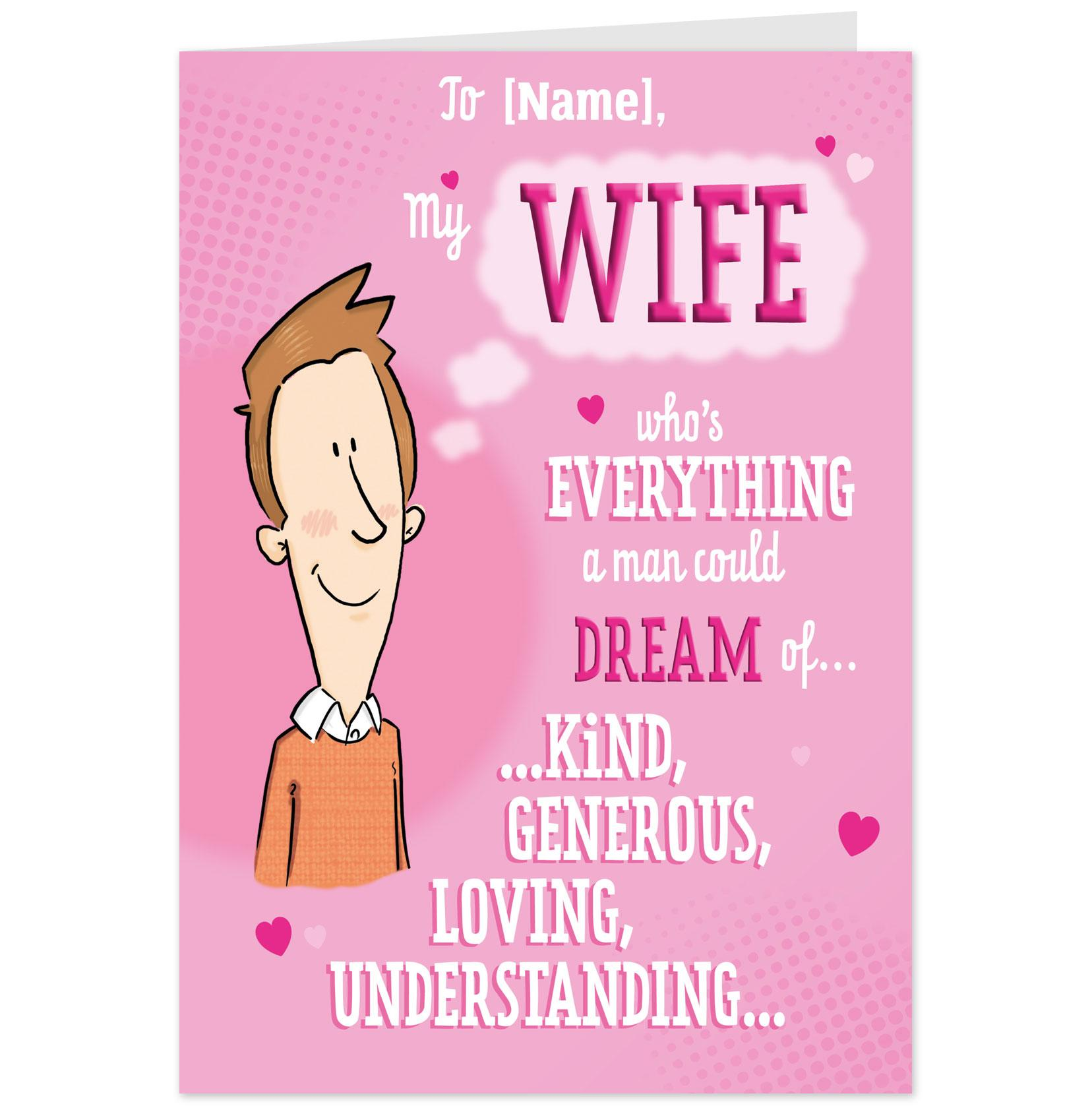 happy birthday romantic cards printable free for wife  todays news, Birthday card
