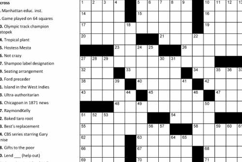 6 Images of Printable Word Searches And Crosswords