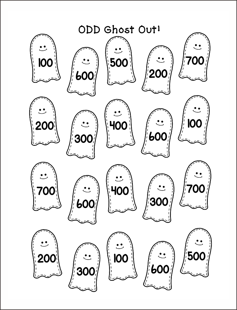 Printable Halloween Board Games