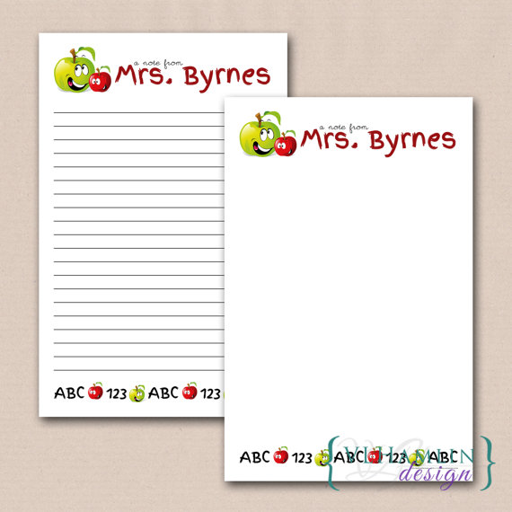 Printable Note From Teacher