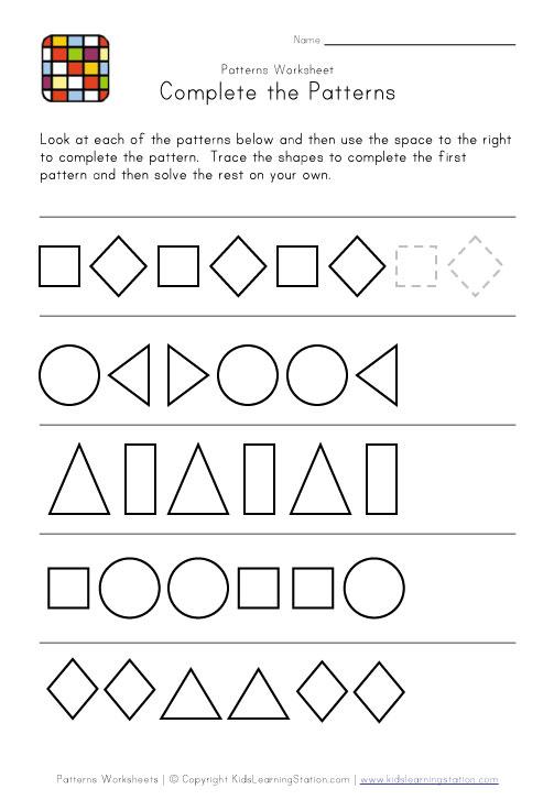 Grade 5 Math Patterns Worksheets & place value worksheets place ...