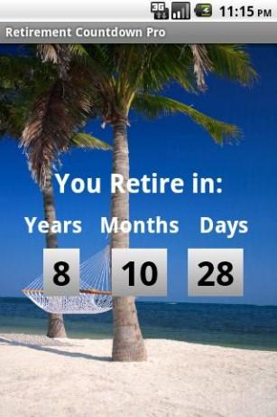5 Images of Retirement Countdown Free Printable Calendars
