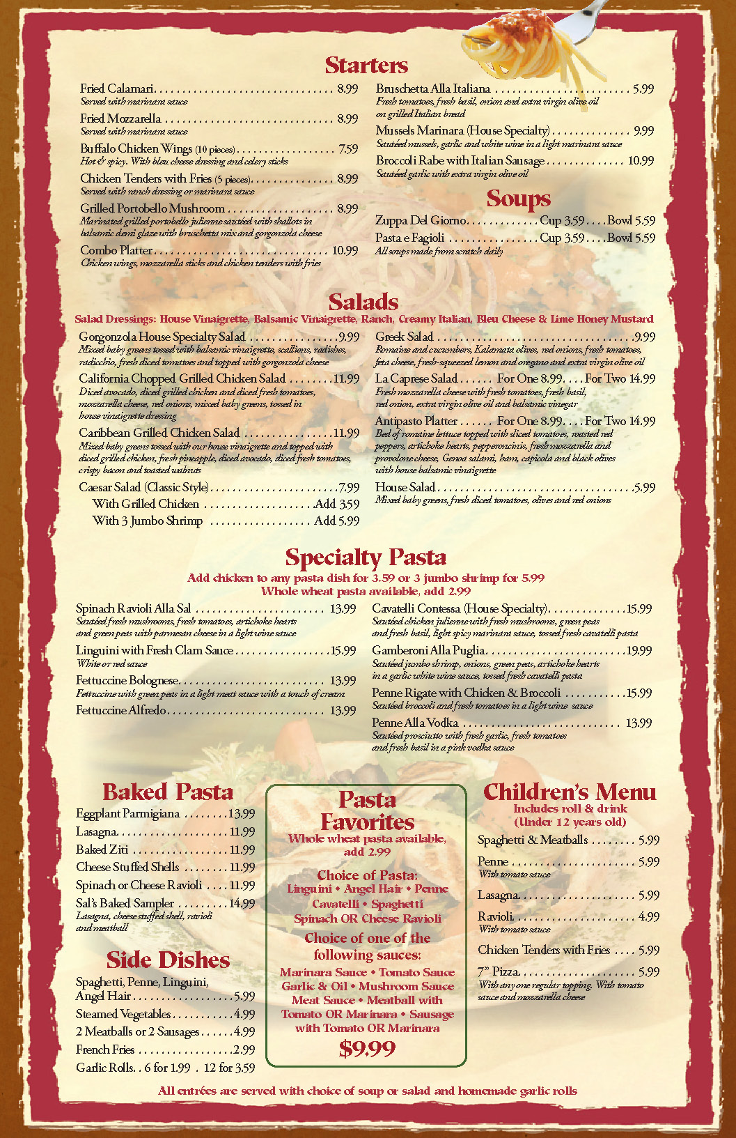 5 Images of Create A Restaurant Menu Printable