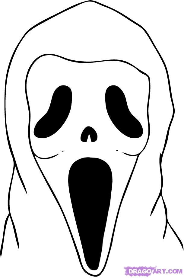 coloring pages from horror movies - photo#22