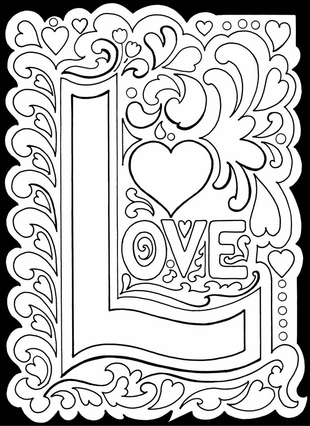 6 Best Images of Adult Love Coloring Pages Printable - I ...