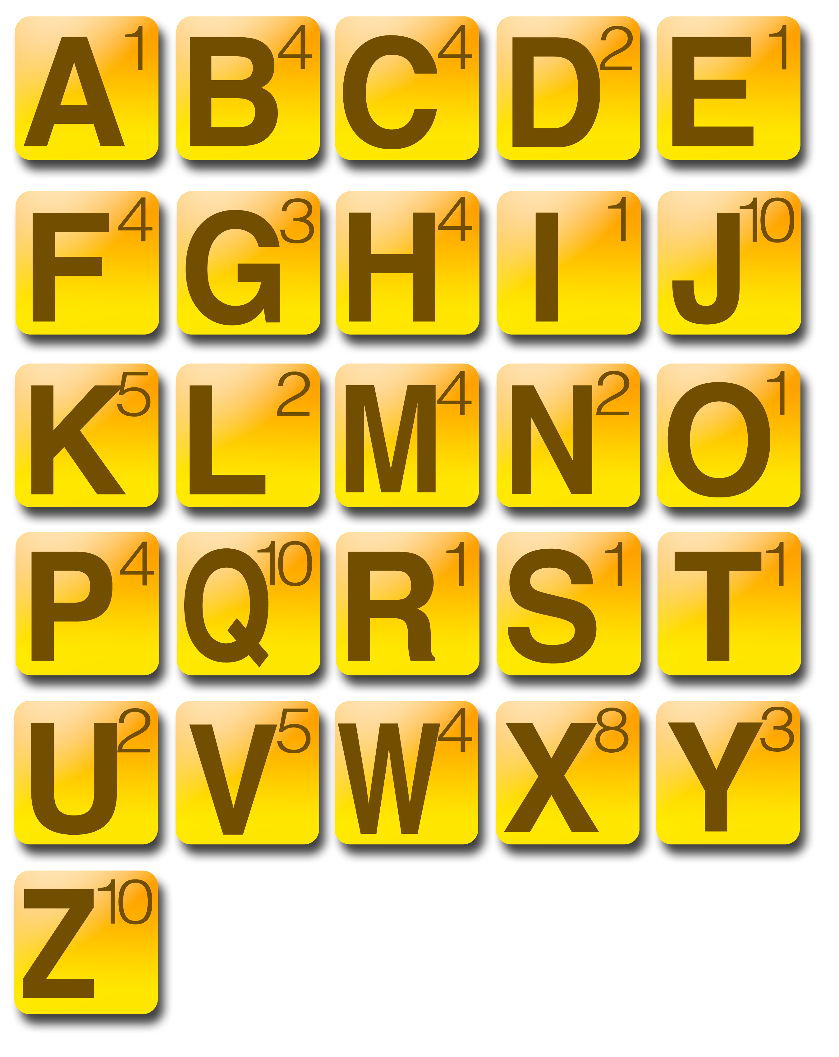 how many letters in words with friends 8 best images of printable letter tile words 1280