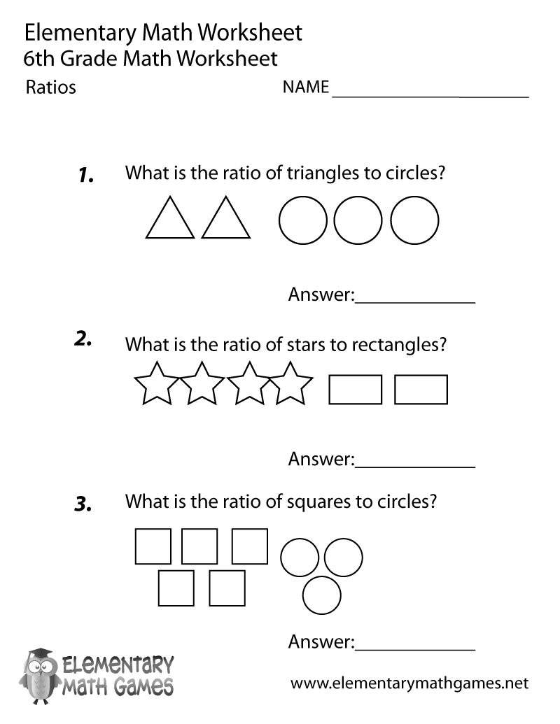 math worksheet : 6th grade math examples  educational math activities : 8th Grade Math Worksheets Printable