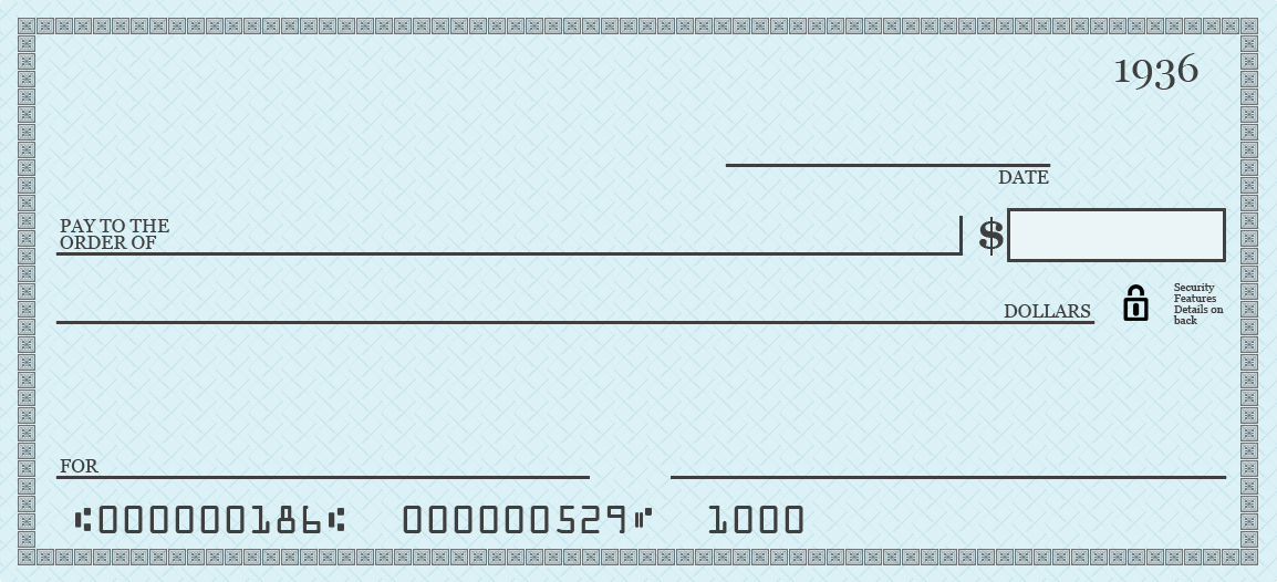 Printable Cheque Template. editable check template printable ...