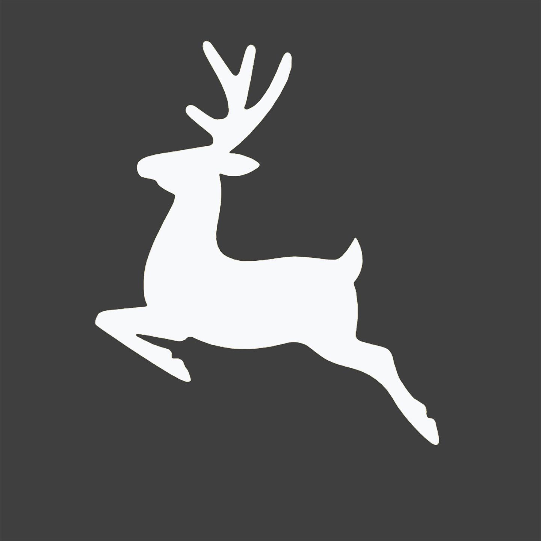 8 Images of Reindeer Christmas Printable