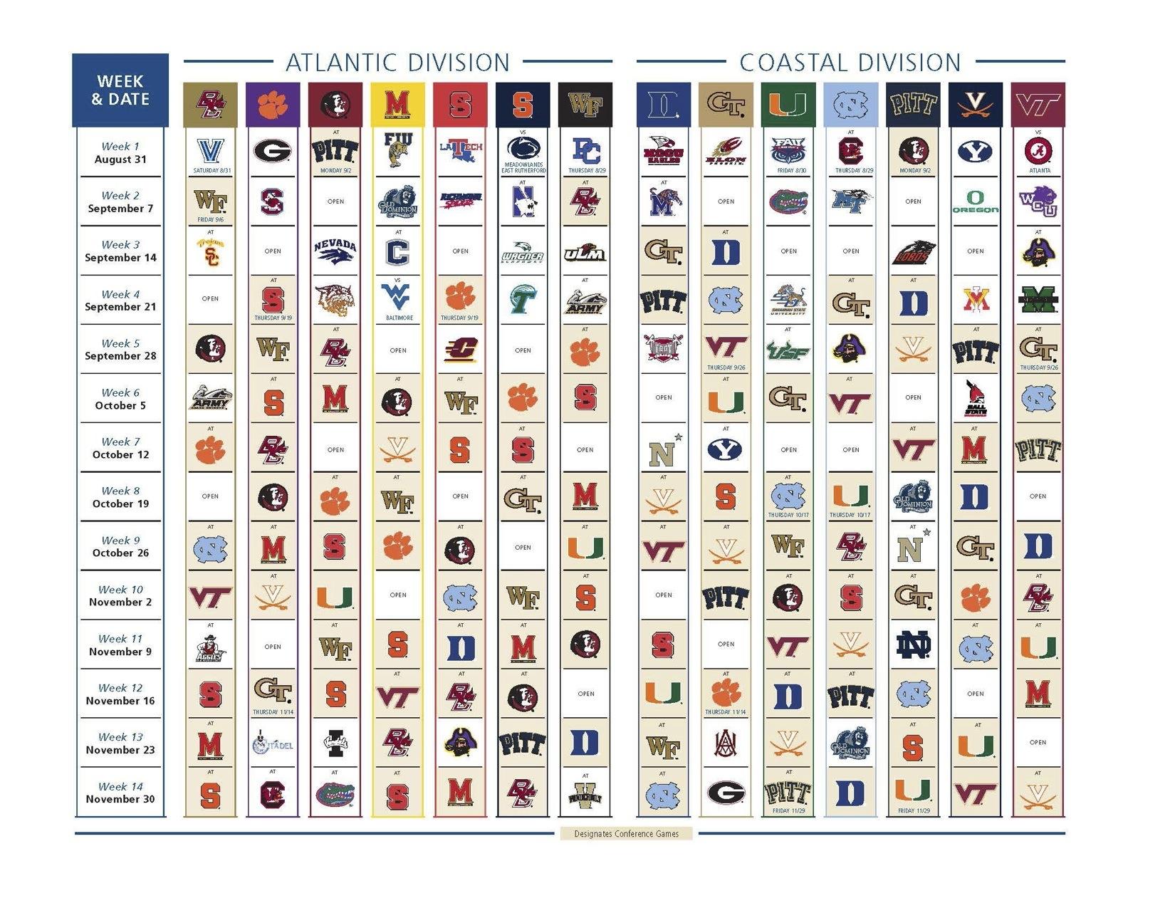 College Football Helmet Schedule 2013