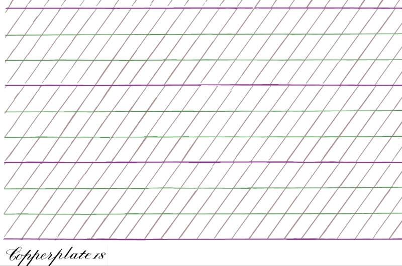 Number Names Worksheets calligraphy worksheets printable : 8 Best Images of Printable Calligraphy Grid Practices Sheet ...