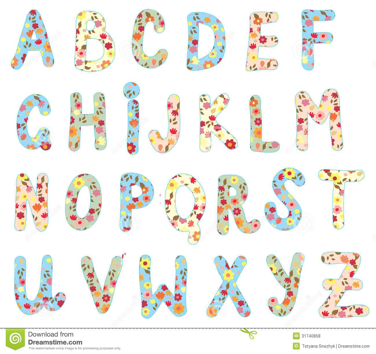 8 Best Images of Cute Alphabet Letters Printable - Cute ... Cute Alphabets