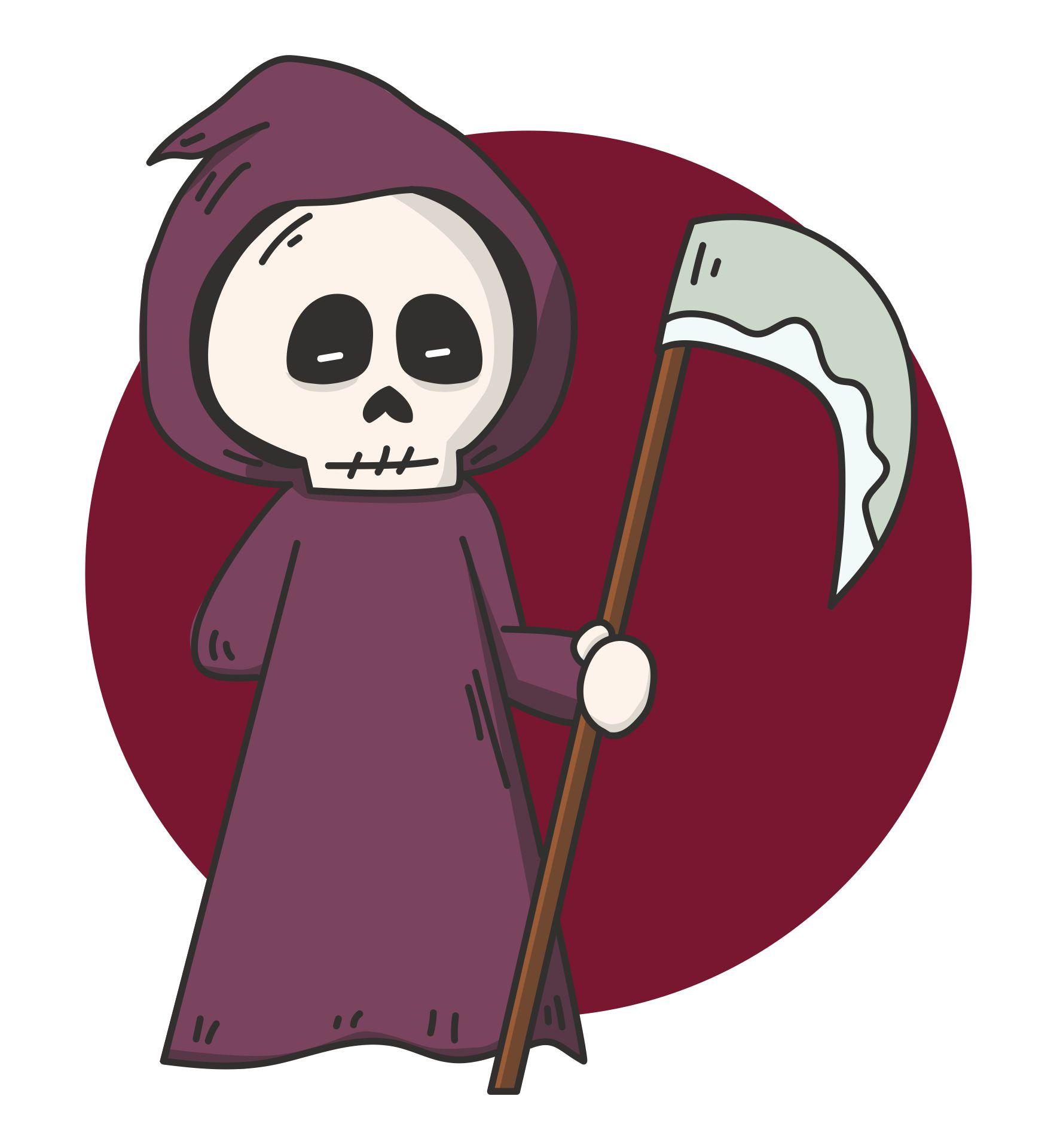 Death Grim Reaper Clip Art