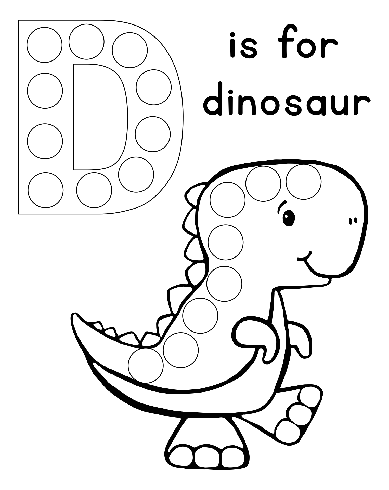 Do a Dot Printables Preschool