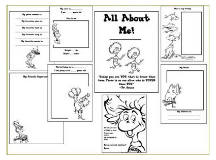4 Images of My Family Booklet Printable