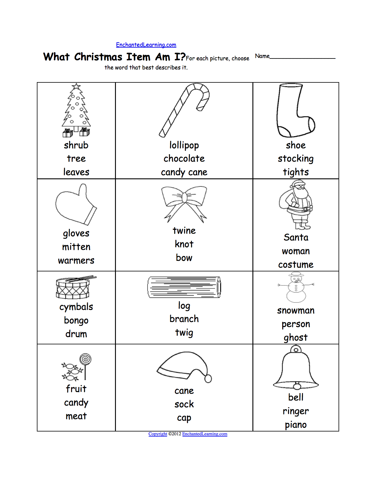 Preschool Xmas Calendar Ideas : Best images of french worksheets printables grade one
