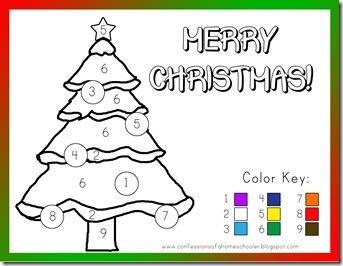 5 Images of Preschool Christmas Printables