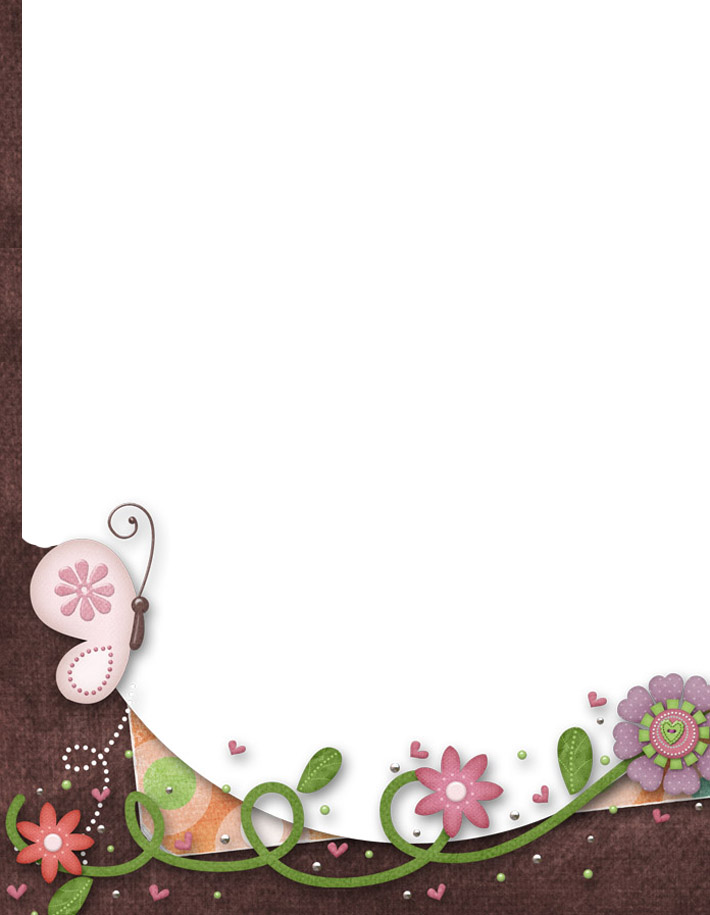 5 Images of Free Printable Stationery Borders