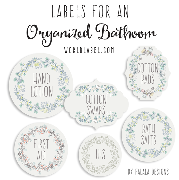 Free Printable Bath and Body Labels