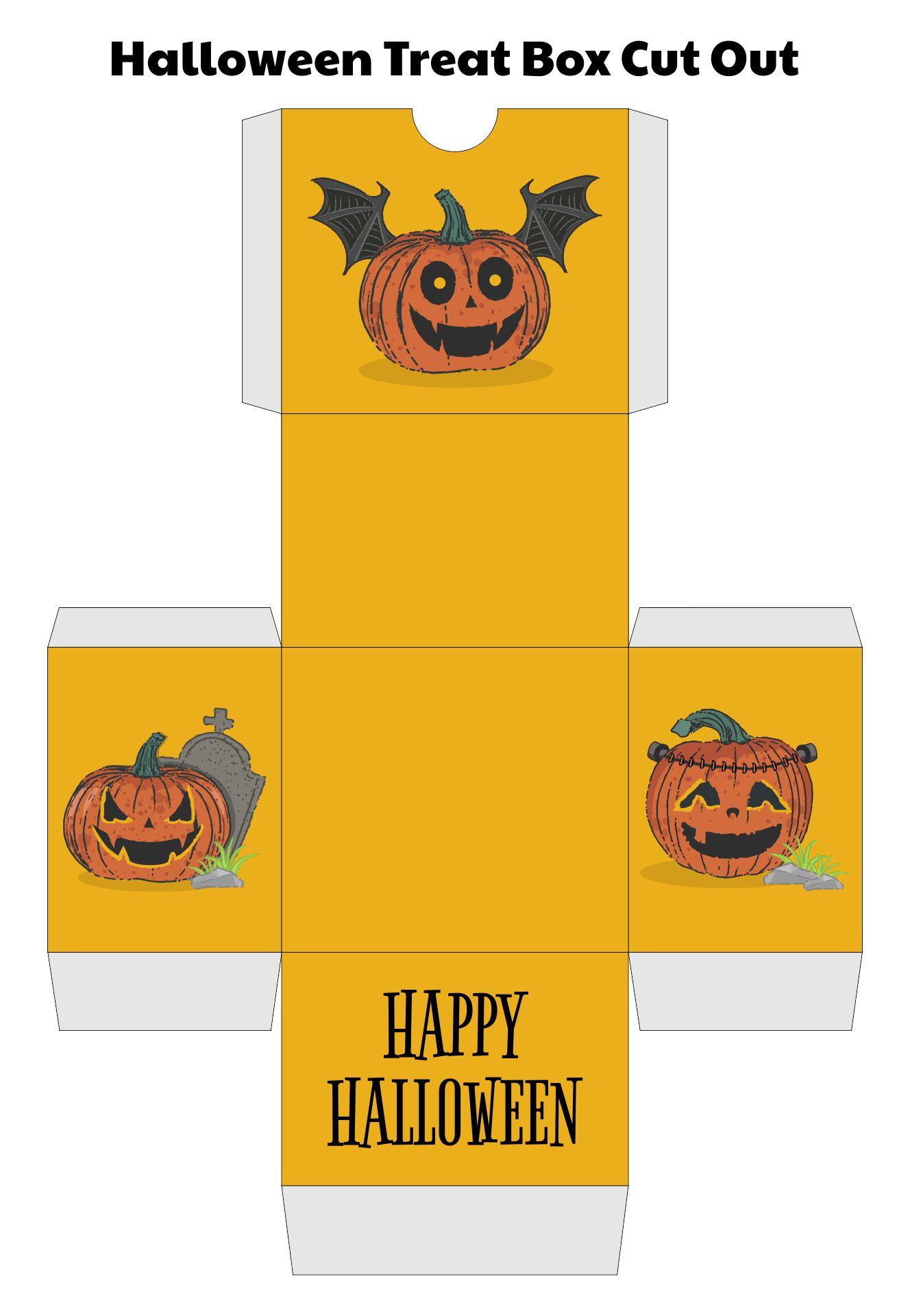 Printable Halloween Craft Ideas