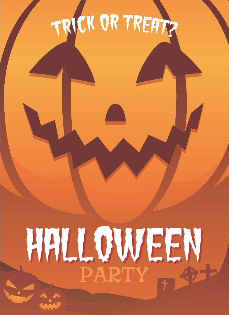 Printable Halloween Party Flyers Templates