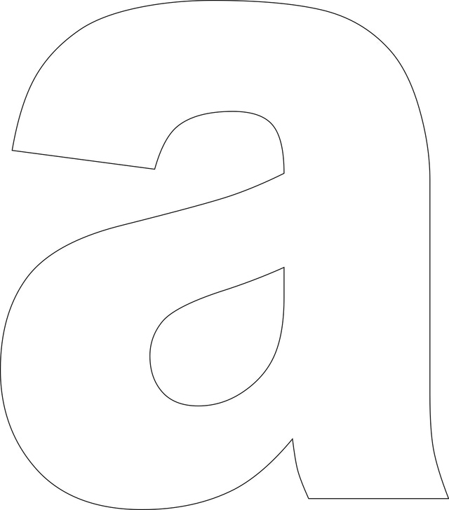 4 Images of Printable Lowercase Alphabet Letters