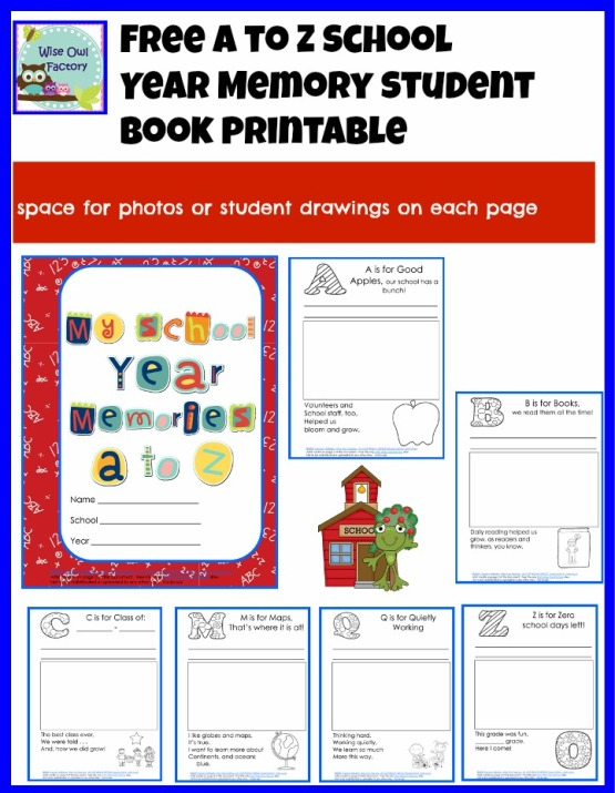 7 best images of memory book preschool printables end of year memory book printable. Black Bedroom Furniture Sets. Home Design Ideas