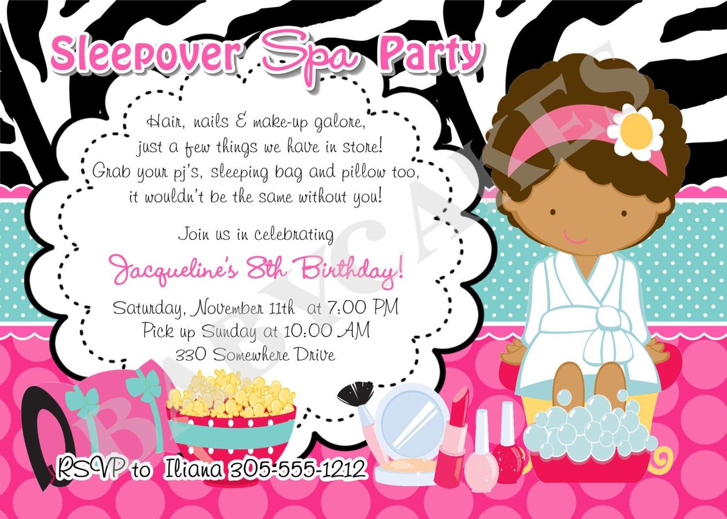 spa invitation template ctsfashion com spa slumber party invitations printable wedding invitation