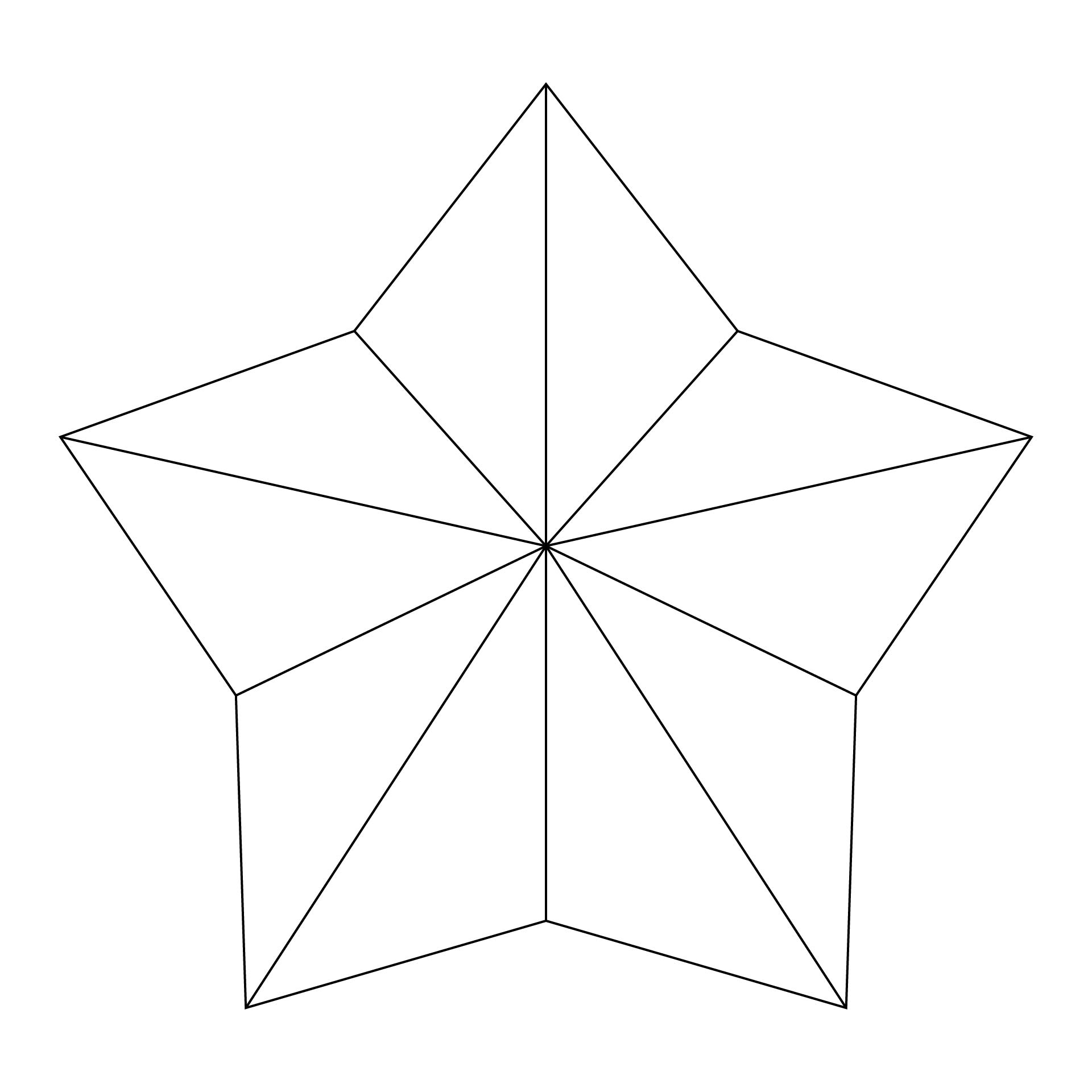 6 Images of Printable Cut Out Star Shape