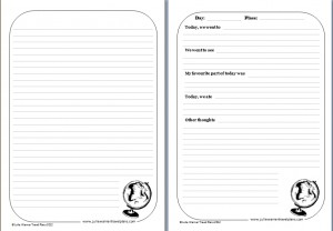 Free Printable Travel Journal Pages Templates