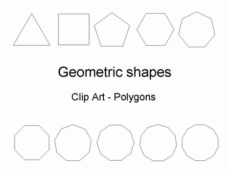 7 Images of Free Printable Geometric Shape Templates