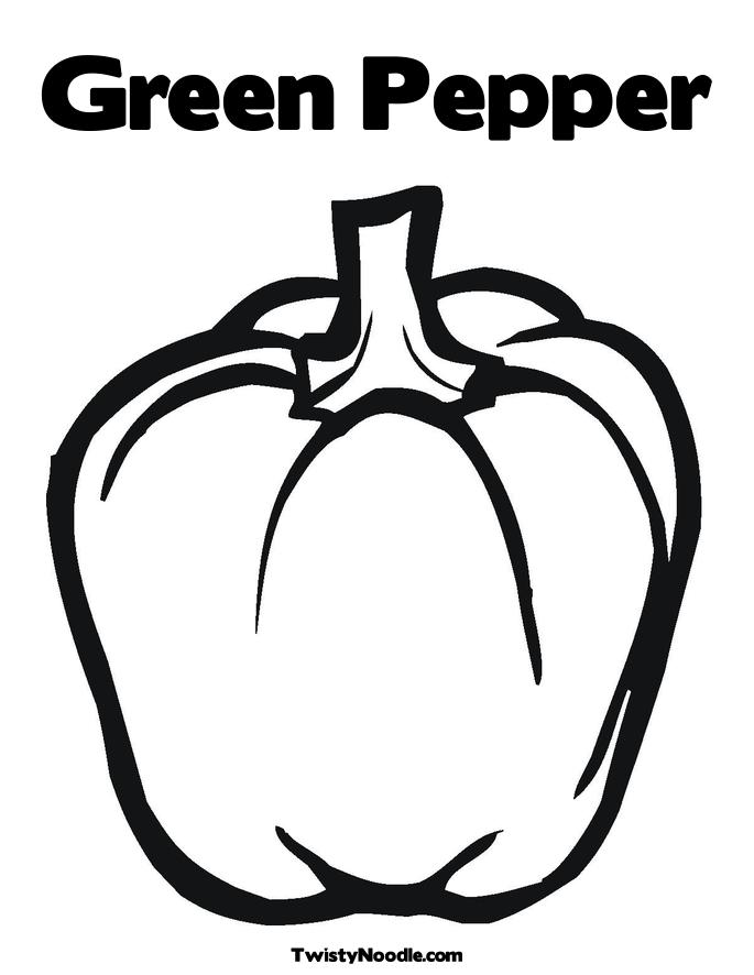7 Images of Printable Template Bell Peppers