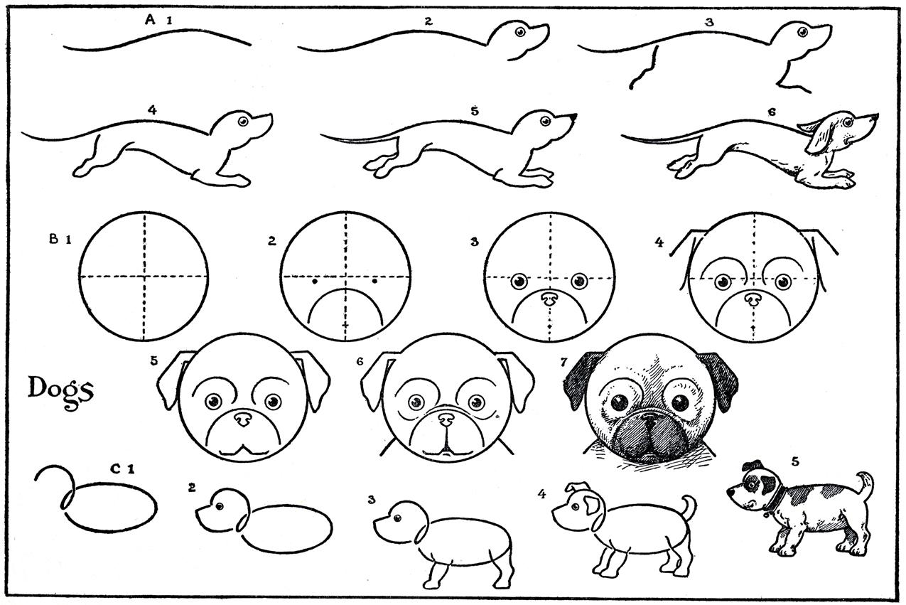 8 Images of Printable Easy Cute Drawings