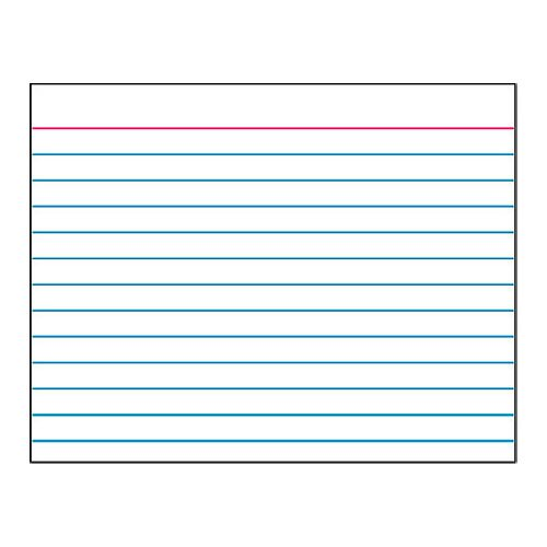 8 best images of printable index cards index card
