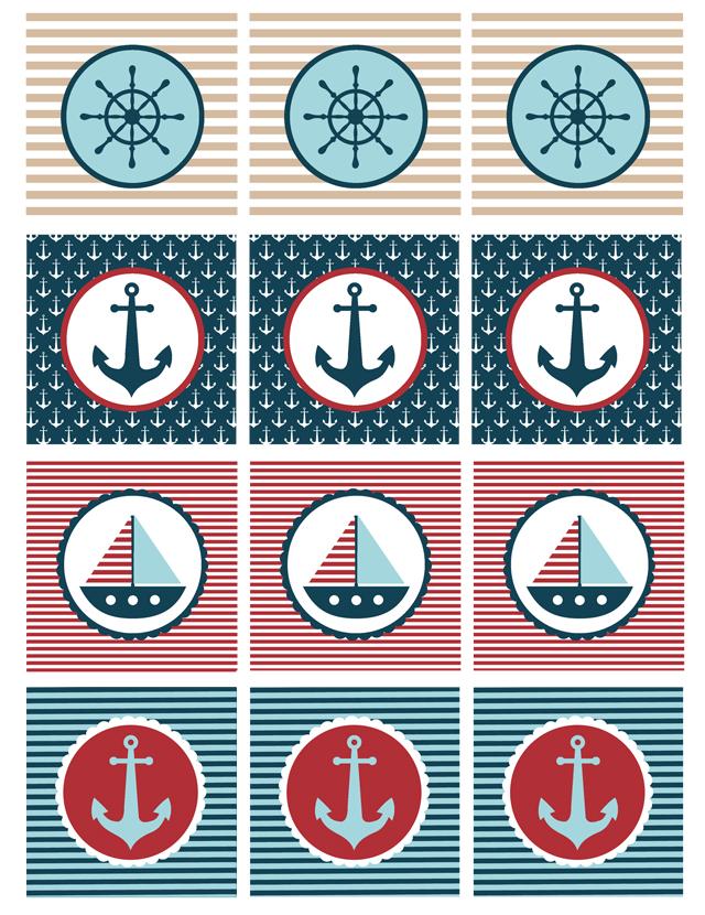 9 Images of Nautical Theme Free Printables