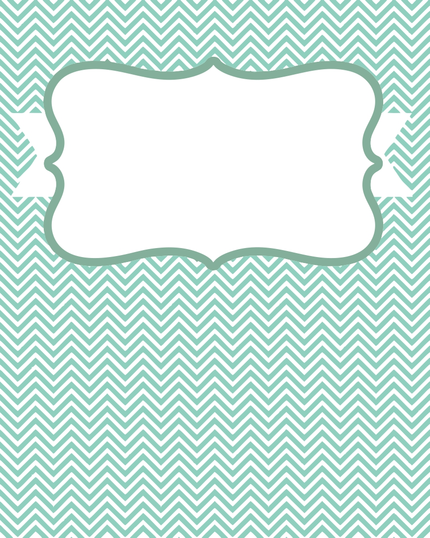Notebook Cover Template